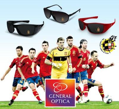 gafas de sol oficiales de la Selección Española de fútbol General Optica