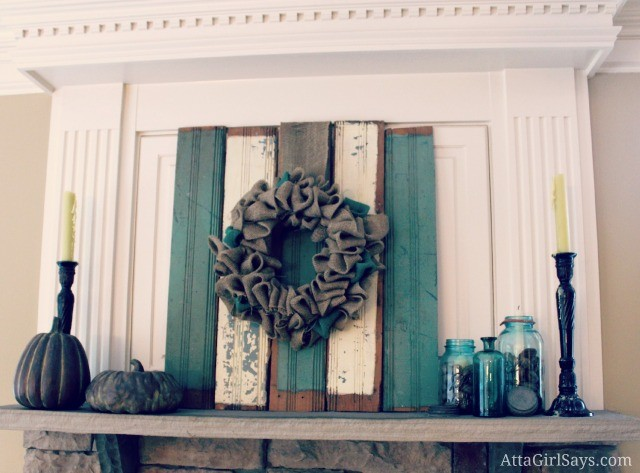 Atta Girl Says Fireplace Mantel- How I Found My Style Sundays- From My Front Porch To Yours