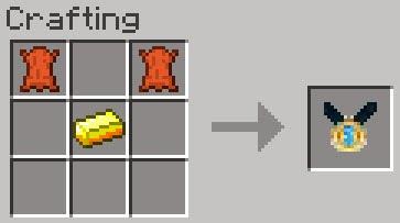 Mo' Creatures crafting medallón león Minecraft mod