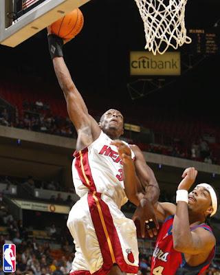 LeBron James Assists Dwyane Wade