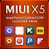 MIUI X5 HD Apex/Nova/ADW Theme APK 2.4.1