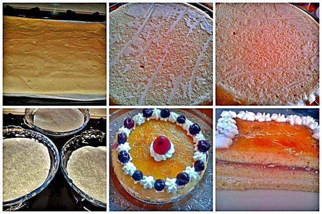 Preparación de la tarta de San Marcos