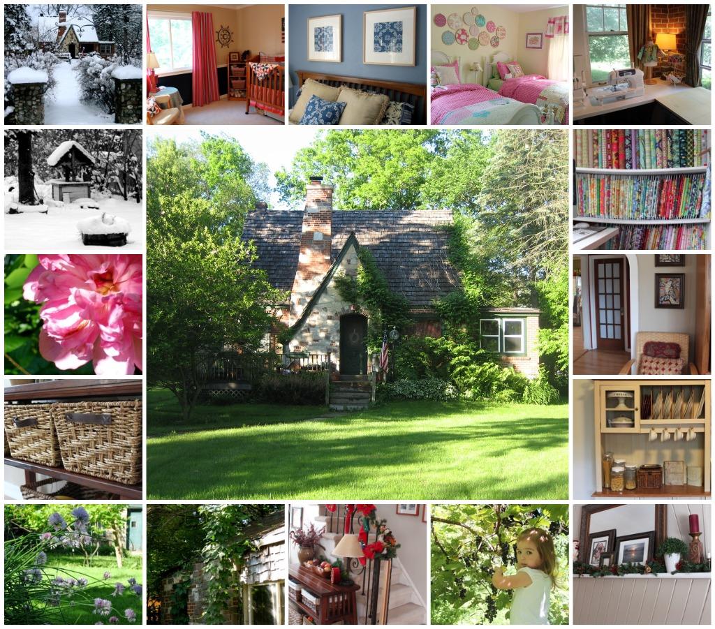 Woodland Cottage Pincushion Free Pattern And Tutorial