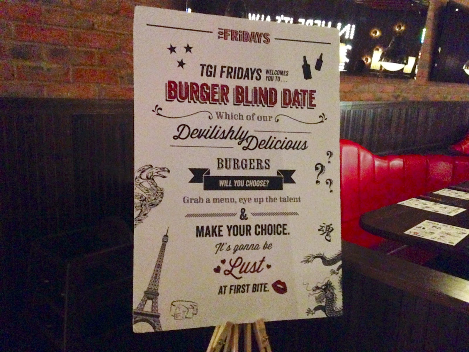 The dating burger