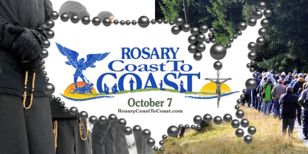 7 de outubro de 2018 Católicos dos EUA farão cordão humano nas fronteiras do país rezando o rosário