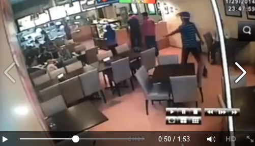 Video Restoran beriani popular di Subang Jaya dirompak