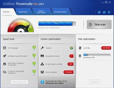 Uniblue PowerSuite Pro 2013 4.1.1.5