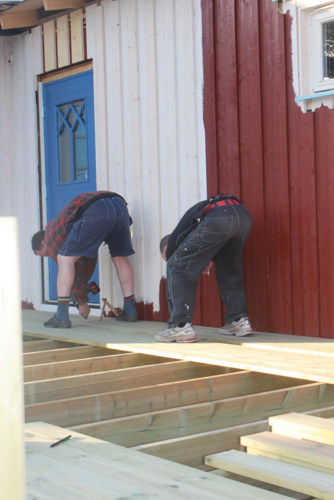 Inredning lägga trall på balkong : Tyresöborna: 2011