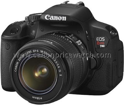 Fotografia in anteprima della Canon EOS 650D con lo zoom EF-S 18-55