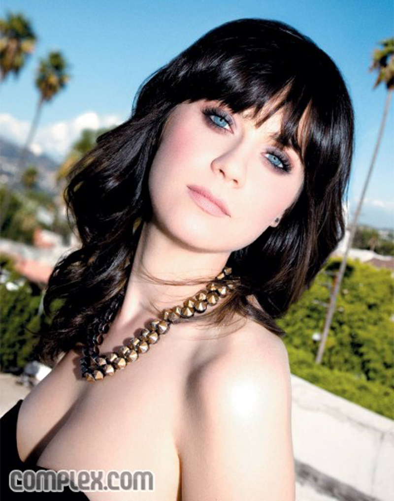 Fresh Look Celebrity Zooey Deschanel Hairstyles 60