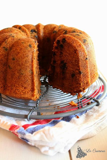 receta bundt cake de calabaza