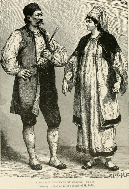 Albanian peasants (Greece)