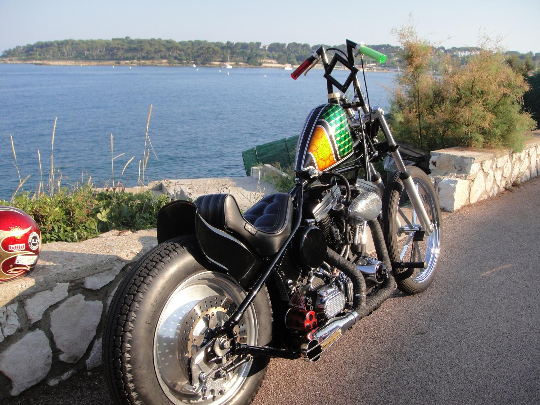 Harley davidson blockhead 1340 japan style