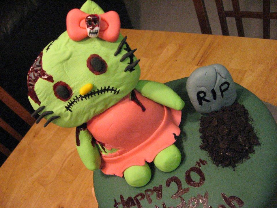 Zombie Hello Kitty Cake Sweet Cakes DC: Zombie...