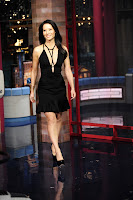 Lucy Liu gorgeous in a blac dress