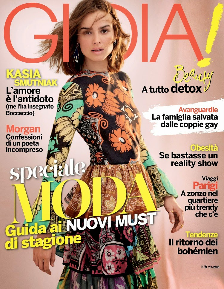 Actress, Model: kasia Smuthiak - Gioia  Italian March 2015