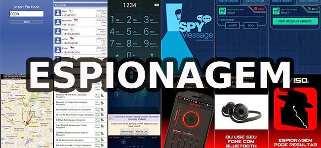 Os 8 Melhores Aplicativos Espiões Gratuitos para o Android.