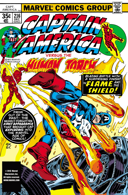 Captain America (1968) Issue #216 #130 - English 1