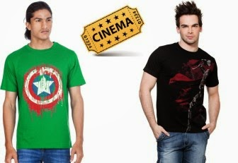 Buy 2 Marvel Tees And Get Free Movie Ticket Rs. 598 only at Zovi.