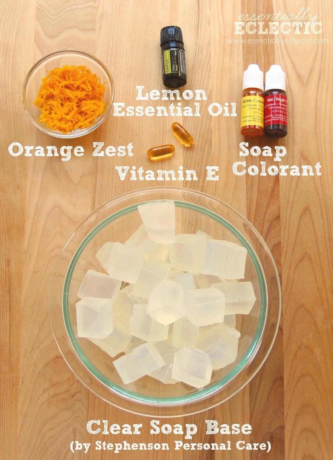 Orange Zest Lemon Soap...
