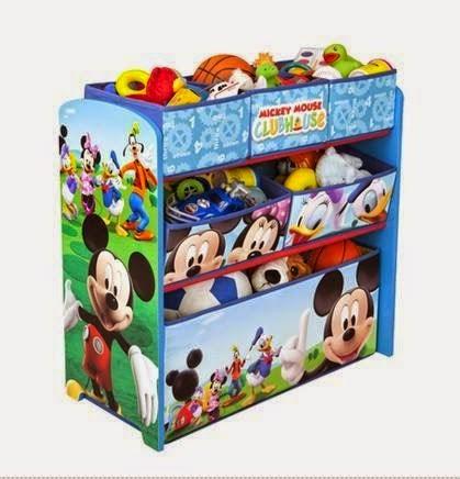 6 Drawer Kids Storage Toys Rack