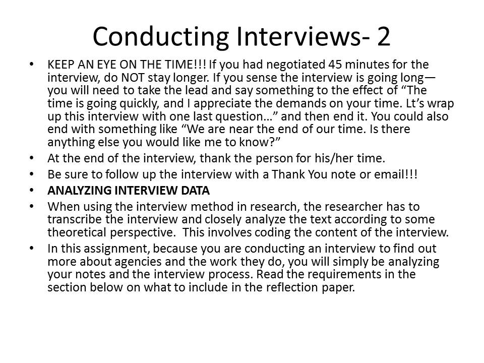 show an example of a interview profile This is an excerpt of an interview project that i completed for one of my professional writing i wanted to show with my interview that professional writing can.