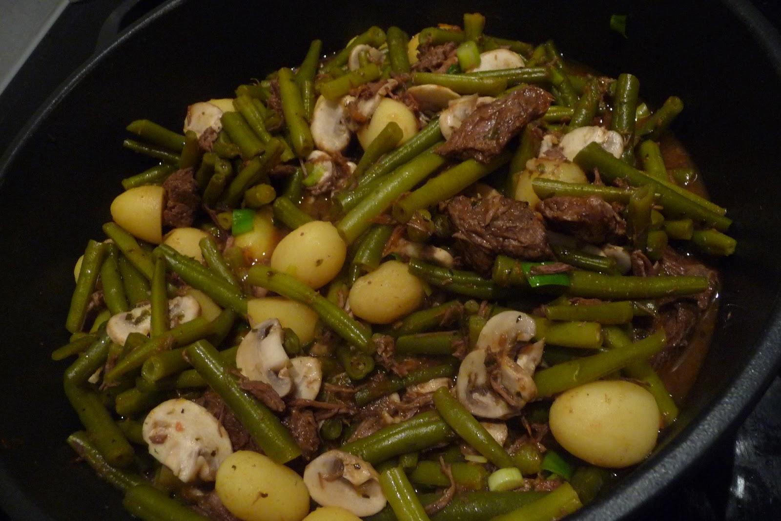 bonen gehaktbal aardappelen