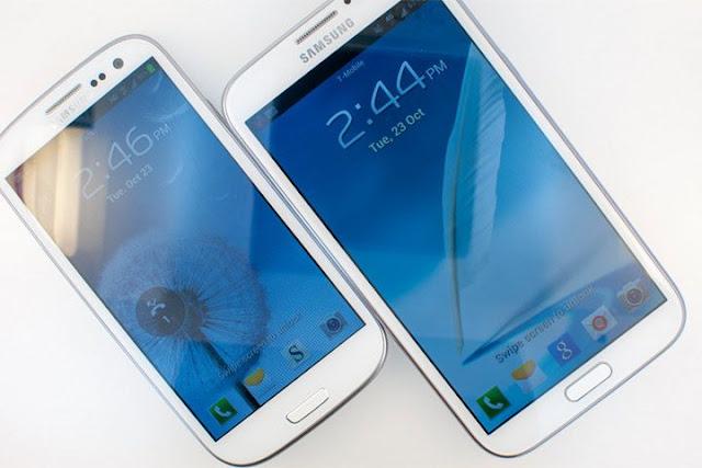 Samsung Galaxy Mega 5,8 e 6,3 Android