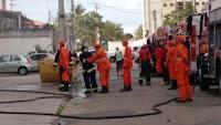 BOMBEIROS EM OCORRÊNCIA