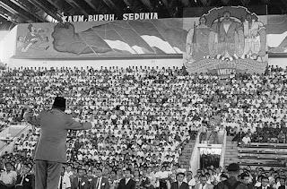 Bung Karno dalam peringatan May Day