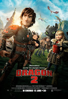 How To Train Your Dragon 2 movie poster large malaysia