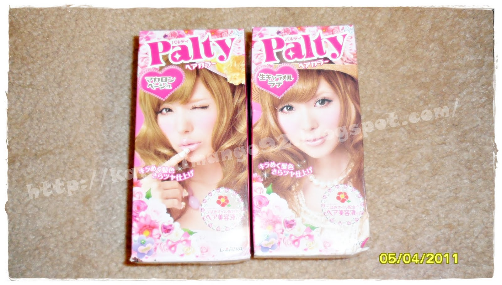 Sweetcandy72 Palty Hair Dye Review