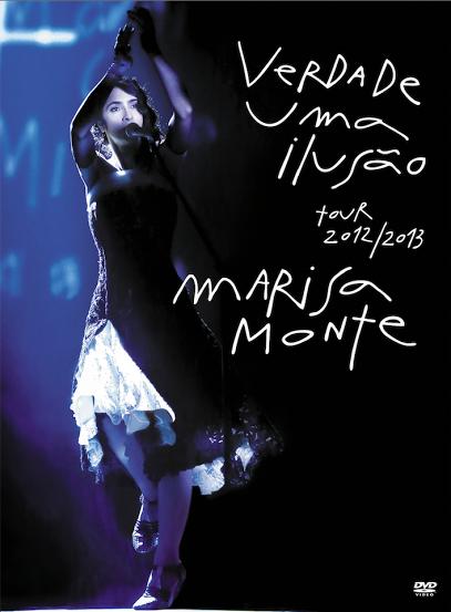 DVD Marisa Monte Verdade Uma Ilusão