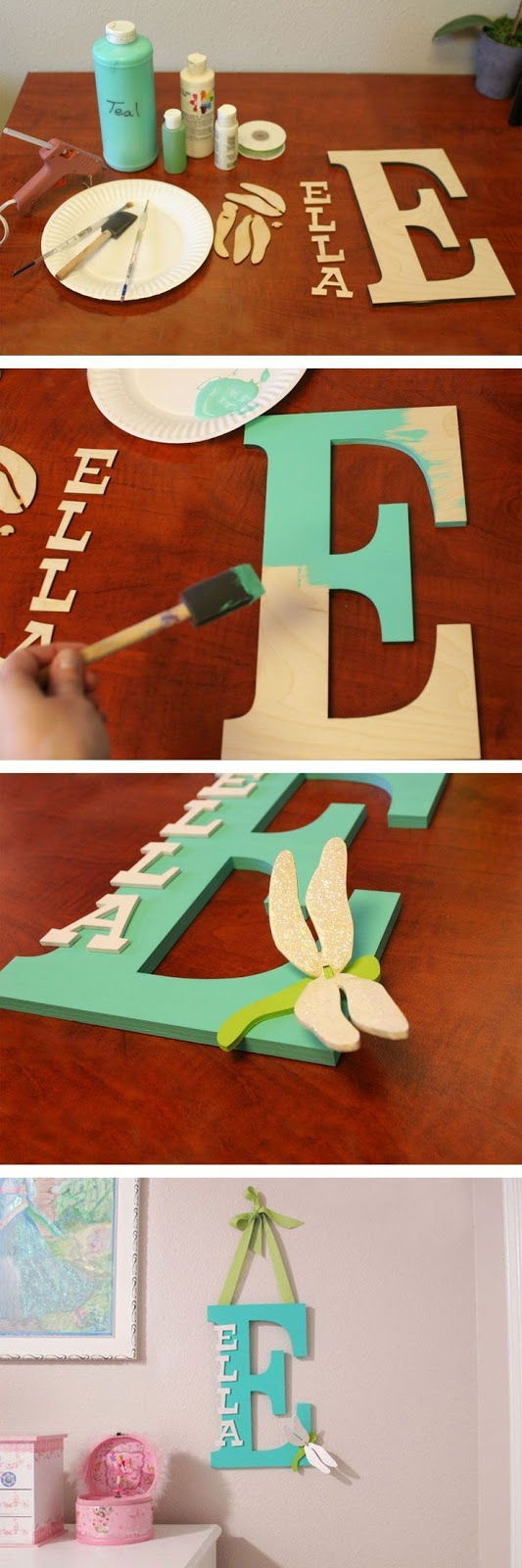 Monogram Wall Decor Ideas : Monogram wall art decore ideas creativecollections