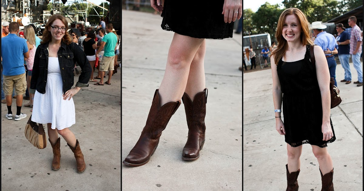 how to wear red cowboy boots
