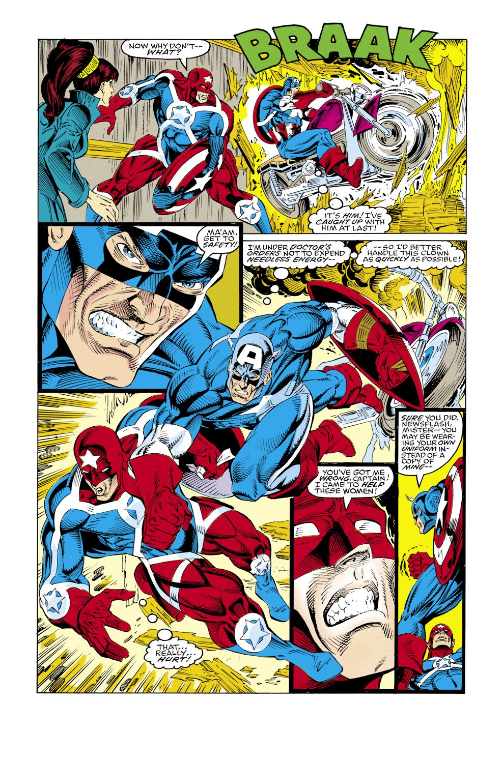 Captain America (1968) Issue #427 #377 - English 19