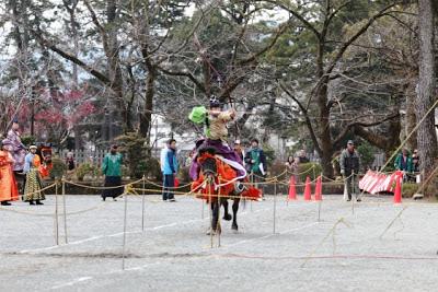 小田原城弓くらべ大会!