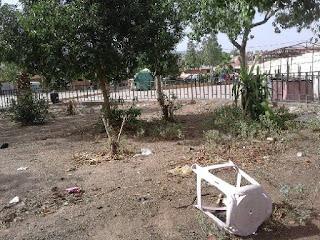 حديقة دمنات تتحول إلى مرمى للنفايات