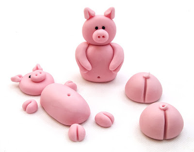 Pujsi iz tičino mase - Pigs fondant