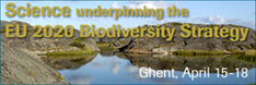Science underpinning the EU 2020 Biodiversity Strategy