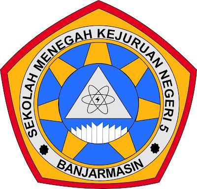 Logo SMKN 5 Banjarmasin