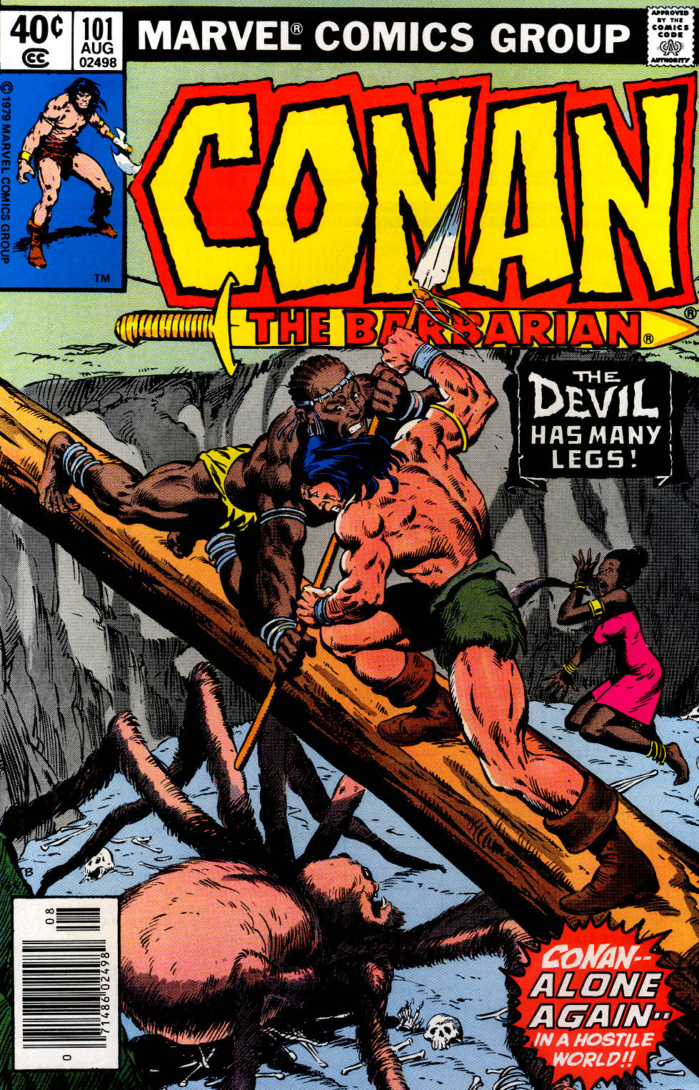 Conan the Barbarian (1970) Issue #101 #113 - English 1