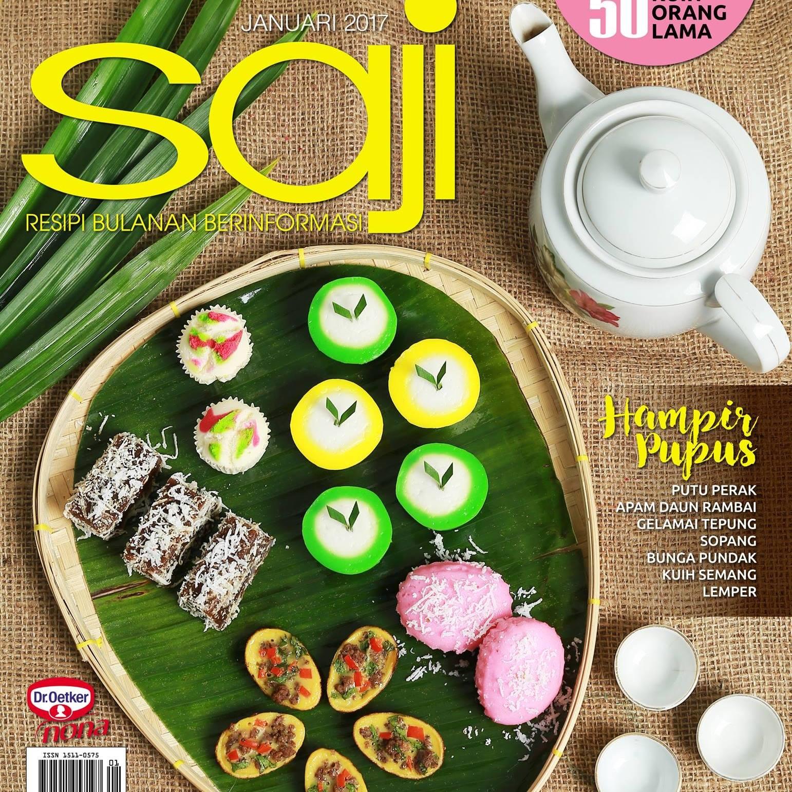 Mamadee di Majalah Saji