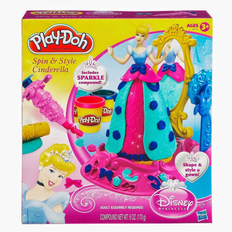 Disney Princess Spin & Style Cinderella Set