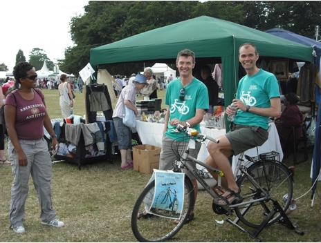 Lambeth Cyclists stall at Lambeth Country Show on lambethcyclists.org.uk