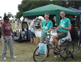 Glamorous Lambeth cyclists at the Lambeth Country Show