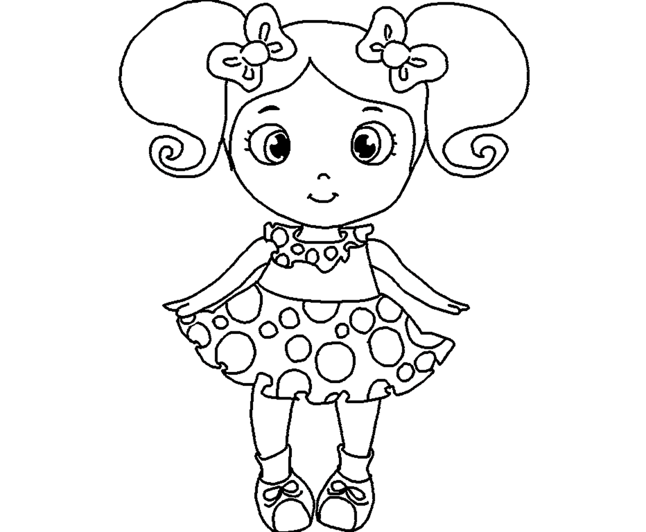 shopkin doll coloring pages - photo#32