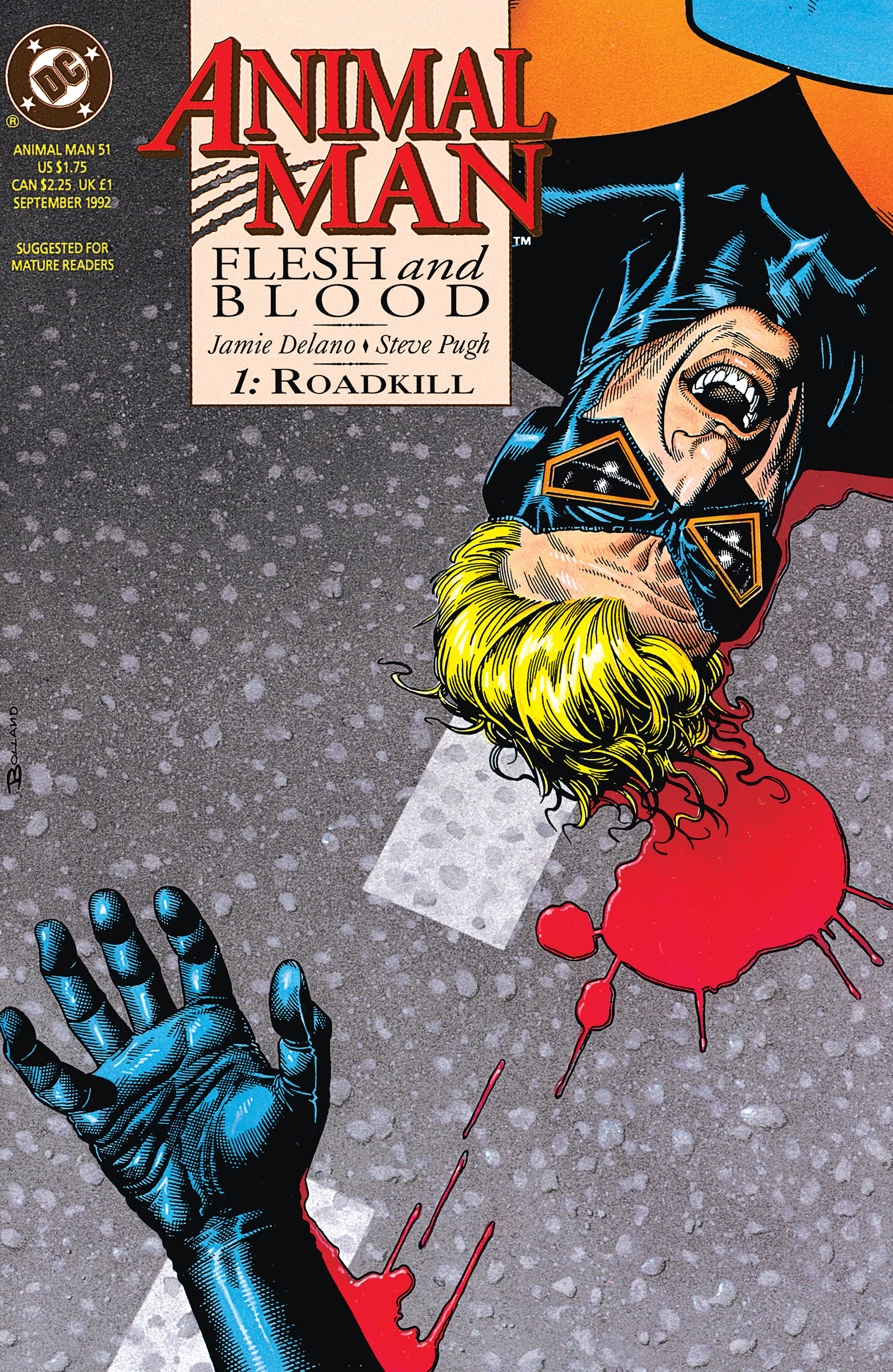 Animal Man issue 51 - Page 1