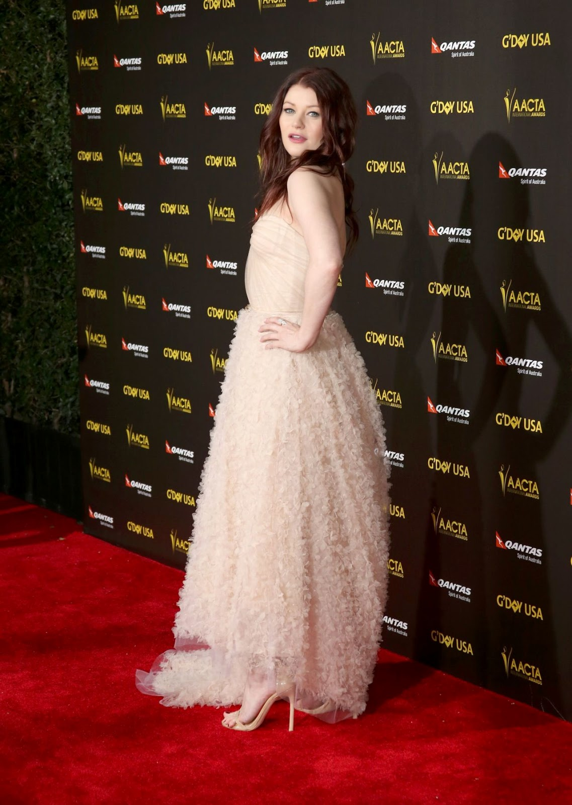 Emilie de Ravin at the G'Day USA Gala AACTA International Awards 2015 in LA