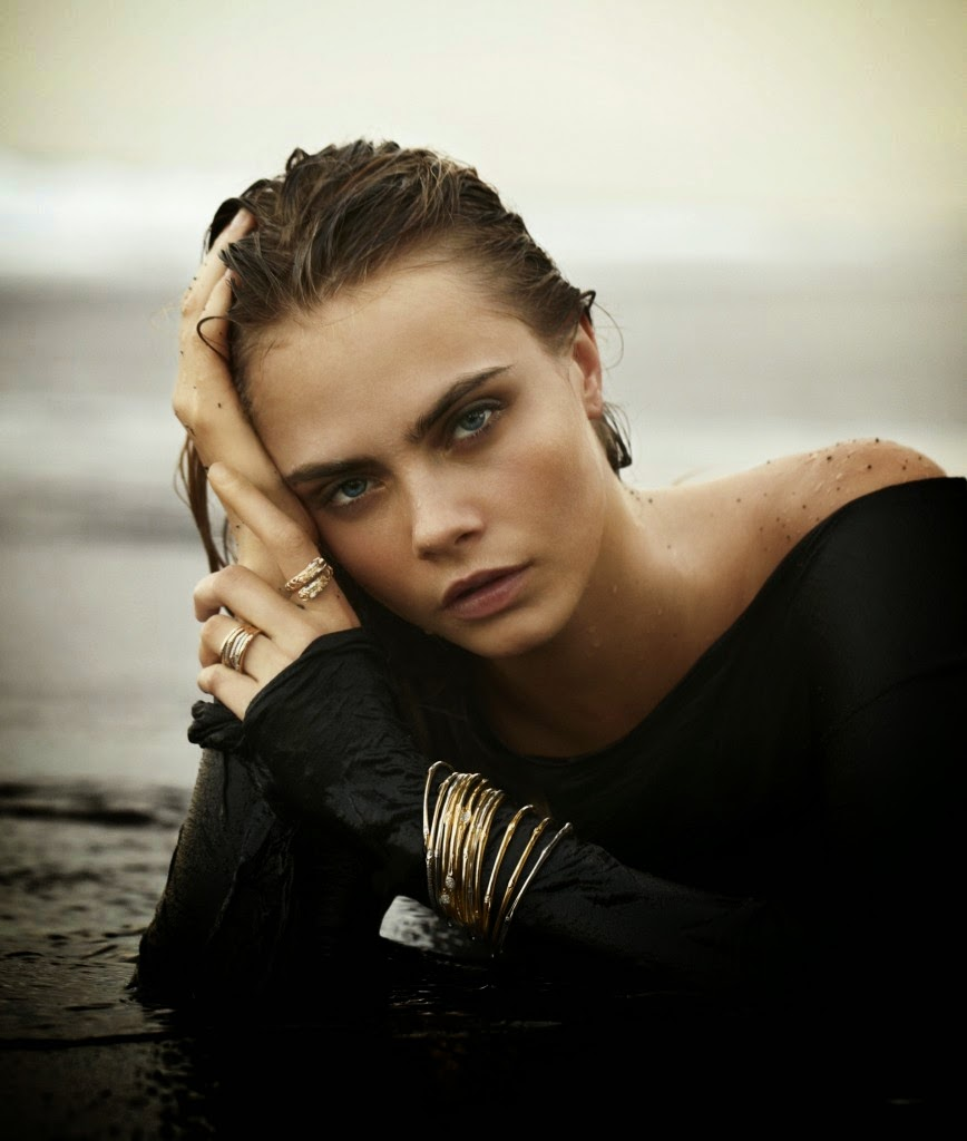 Cara Delevingne for John Hardy's Jewellery Campaign